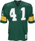 Football Collectibles:Uniforms, 1976 Dave Osborn Game Worn Green Bay Packers Jersey....