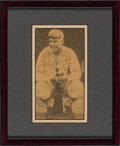 Baseball Collectibles:Others, 1940's Tris Speaker Signed Cut Display. ...