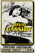 Music Memorabilia:Memorabilia, David Cassidy Concert Poster & Partridge Family Toy Bus(1970s).... (Total: 2 )