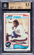 Football Cards:Singles (1970-Now), 1982 Topps Lawrence Taylor #434 BGS 9.5 GEM MINT....
