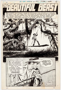 Al Williamson House of Mystery #185 Partial Story Group of 5 Original Art (DC Comics, 1970).... (Total: 5 )