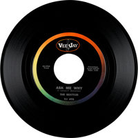 """Beatles (""""Beattles"""") """"Please Please Me / Ask Me Why"""" Large Font Oval Logo Label US 45 with Original..."""