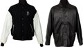 Music Memorabilia:Memorabilia, AC/DC Back in Black (1980/81) and Stiff Upper Lip (2000/1) TourJackets.... (Total: 2 Items)
