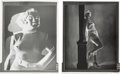 Movie/TV Memorabilia:Photos, A Marilyn Monroe Pair of Black and White Negatives....