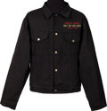 Music Memorabilia:Memorabilia, Guns N' Roses Get in the Ring World Tour Jacket (circa 1991)....