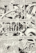 Original Comic Art:Panel Pages, Jack Kirby and Sol Brodsky Tales to Astonish #40 Story Page9 Original Art (Marvel, 1963)....