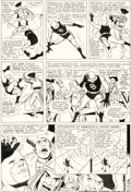 Original Comic Art:Panel Pages, Wally Wood Daredevil #5 Story Page 8 Original Art (Marvel,1964)....