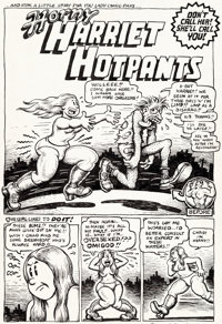 Robert Crumb Your Hytone Comix Complete 8-Page Story Original Art (Apex Novelties, 1971).... (Total: 8 Original Art)
