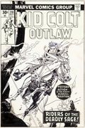 Original Comic Art:Covers, Gil Kane Kid Colt Outlaw ...