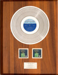 Music Memorabilia:Awards, Diana Ross and the Supremes Greatest Hits