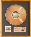 Music Memorabilia:Awards, Beatles Help! RIAA Gold Record Sales Award Presented to JohnLennon (Capitol SMAS-2386, 1965). ...
