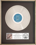 Music Memorabilia:Awards, The Beatles 1967-1970 RIAA Platinum Album Sales Award(Capitol SKBO-3404, 1976)....