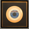 "Music Memorabilia:Awards, Jackson 5 ""I Want You Back"" Gold Record (Motown M-1157, 1969)...."