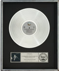 Music Memorabilia:Awards, Beatles - John Lennon / Yoko One Double Fantasy RIAAPlatinum Album Award (Geffen GHS 001, 1980)....
