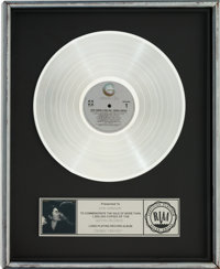 Beatles - John Lennon / Yoko One Double Fantasy RIAA Platinum Album Award (Geffen GHS 001, 1
