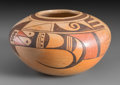 American Indian Art:Pottery, A Hopi Polychrome Jar. Fannie Nampeyo...