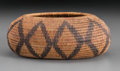 American Indian Art:Baskets, A Pomo Coiled Jar...