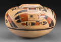American Indian Art:Pottery, A Hopi Polychrome Jar. Rachel Sahmie...