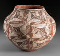 American Indian Art:Pottery, A Laguna Polychrome Jar...