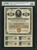 Miscellaneous:Other, Fourth Liberty Loan 4 1/4% Gold Bond of 1933-38 $100 Oct. 24,1918.. ...