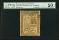 Colonial Notes:Pennsylvania, Pennsylvania December 8, 1775 40s PMG About Uncirculated 50 EPQ.....