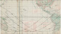 Explorers:Space Exploration, Apollo 14 Earth Orbital Chart with Overlay. ...