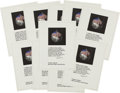 Explorers:Space Exploration, NASA Manned Flight Awareness Posters: Archive of Ten Apollo 11,with John F. Kennedy Quote, Small Size. ...