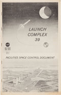 "Explorers:Space Exploration, NASA ""Launch Complex 39 Facilities Space Control Document"" LargeBook, circa 1966. ..."
