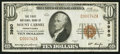 National Bank Notes:Pennsylvania, Mount Carmel, PA - $10 1929 Ty. 1 The First NB Ch. # 3980. ...
