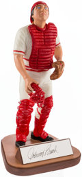 "Baseball Collectibles:Hartland Statues, Johnny Bench Signed ""Gartlan"" Figurine. ..."