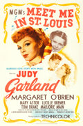 """Movie Posters:Musical, Meet Me in St. Louis (MGM, 1944). One Sheet (27"""" X 41"""").. ..."""