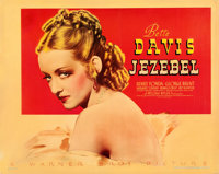 "Jezebel (Warner Brothers, 1938). Linen Finish Half Sheet (22"" X 28"")"