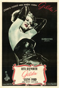 "Movie Posters:Film Noir, Gilda (Columbia, 1946). Argentinean One Sheet (29"" X 43"").. ..."