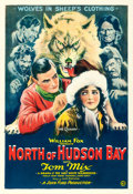 "Movie Posters:Adventure, North of Hudson Bay (Fox, 1923). One Sheet (28"" X 41"").. ..."