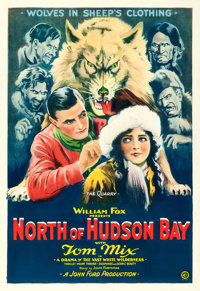"North of Hudson Bay (Fox, 1923). One Sheet (28"" X 41"")"