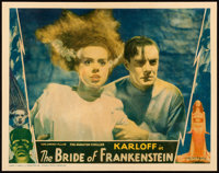 "The Bride of Frankenstein (Universal, 1935). Lobby Card (11"" X 14"")"