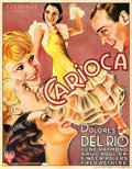 """Movie Posters:Musical, Flying Down to Rio (RKO, 1933). Pre-War Belgian (24"""" X 33.5"""").. ..."""