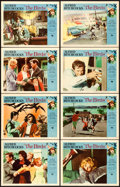 "Movie Posters:Hitchcock, The Birds (Universal, 1963). Lobby Card Set of 8 (11"" X 14"").. ...(Total: 8 Items)"