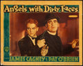 "Movie Posters:Crime, Angels with Dirty Faces (Warner Brothers, 1938). Linen Finish LobbyCard (11"" X 14"").. ..."