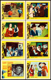 "High Noon (United Artists, 1952). Lobby Card Set of 8 (11"" X 14""). ... (Total: 8 Items)"
