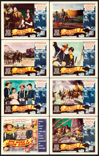 "She Wore a Yellow Ribbon (RKO, 1949). Lobby Card Set of 8 (11"" X 14""). ... (Total: 8 Items)"