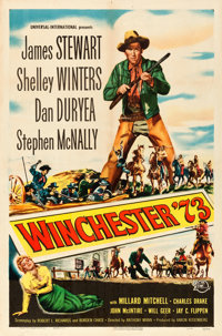 "Winchester '73 (Universal International, 1950). One Sheet (27"" X 41"") Reynold Brown Artwork"
