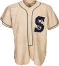 """Baseball Collectibles:Uniforms, 1950's Chicago White Sox """"Prop"""" Flannel Jersey. ..."""