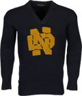 Football Collectibles:Uniforms, Circa 1927 Jerry Ransavage Owned & Worn Notre Dame Fighting Irish Sweater. ...