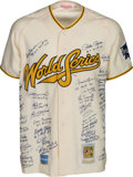 Baseball Collectibles:Uniforms, World Series MVP's Multi-Signed Jersey....