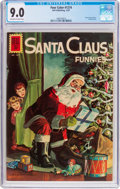 Silver Age (1956-1969):Miscellaneous, Four Color #1274 Santa Claus Funnies (Dell, 1961) CGC VF/NM 9.0Off-white to white pages....