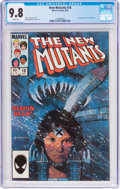 Modern Age (1980-Present):Superhero, The New Mutants #18 (Marvel, 1984) CGC NM/MT 9.8 White pages....