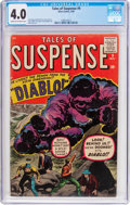 Silver Age (1956-1969):Horror, Tales of Suspense #9 (Marvel, 1960) CGC VG 4.0 Cream to off-whitepages....
