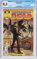 Modern Age (1980-Present):Horror, The Walking Dead #1 (Image, 2003) CGC VF+ 8.5 White pages....