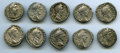 Ancients:Ancient Lots , Ancients: GROUP LOTS. Roman Imperial. Lot of ten (10) Commodus (AD177-192), AR denarii. Fine-About XF.... (Total: 10 coins)